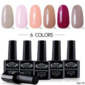 Perfect Summer UV LED Soak Off Gel Nail Polish Set
