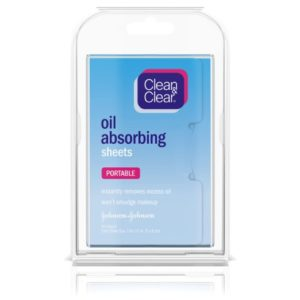Clean Clear Oil Absorbing Sheets 50 Count