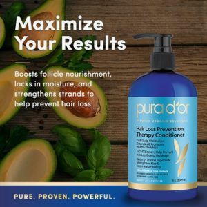 Pura dOr Hair Loss Prevention Therapy Organic Conditioner