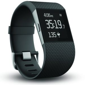 Fitbit Surge Fitness Black Large Superwatch