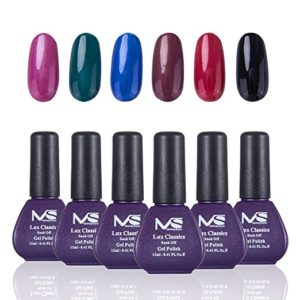 MelodySusie Gel Nail Polish Set Lux Classics 1 Step