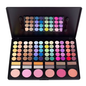 Coastal Scents 78 Color Shadow Blush Palette