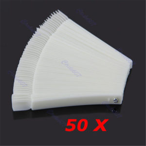 White Hot Selling Transparent False Nail Art Tips Tool Boards