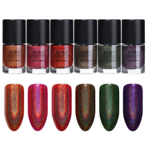 BORN PRETTY Glitter Holographic Nail Polish 9 ml