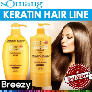 SOMANG Cosmetics Keratin Hair Line Korean Products