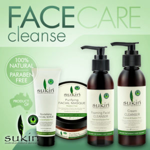 SUKIN ORGANICS AUSTRALIA Face Care Cleanse