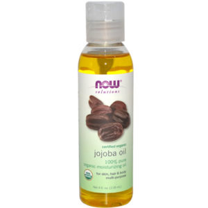 NOW SOLUTIONS Certified Organic Jojoba Oil 4 fl oz