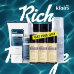 KLAIRS Rich Moist Vegan Friendly Skincare Products Package