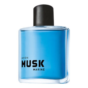 AVON Musk Marine Eau De Cologne Gentlemen Spray 75ml