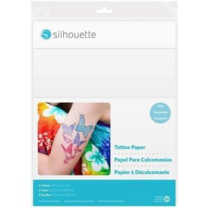 SILHOUETTE Fun Plus Easy Media-Tattoo Temporary Tattoo Paper