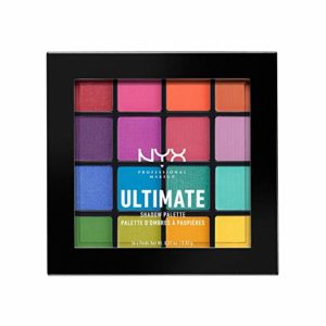 NYX Ultimate Shadow Palette Brights 16 Color Choices