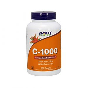 NOW FOODS Vitamin C-1000 Antioxidant Protection Tablets