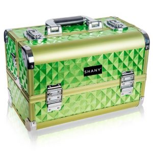 SHANY Makeup Artists Cosmetics Rainforest Train Case