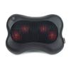 Zyllion Shiatsu Massage FDA Listed Black Pillow