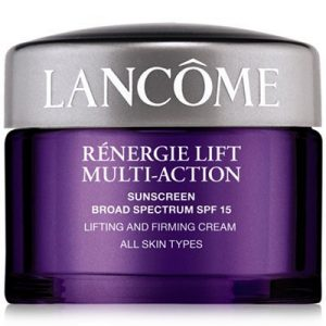 LANCOME Renergie Lift Multi Action Broad Spectrum Sunscreen SPF 15 Plus Firming Cream For All Skin Types 0.5 Oz (15 g)