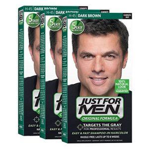 JustFOR MEN Hair Color Dark Brown 3-Pack