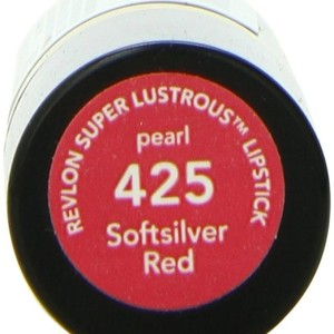 Revlon Lipstick Softsilver Red