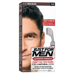 JustFor Men Hair Color Real Black A-55