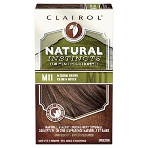 CLAIROL M11 Medium Brown Mens Hair Color 3-Pack