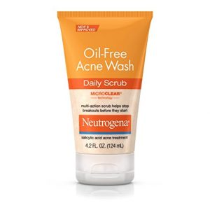 Neutrogena Oil Free Acne Wash Daily Scrub 124 ml