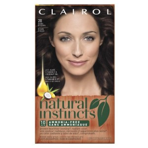 Clairol 28 Nutmeg Dark Brown