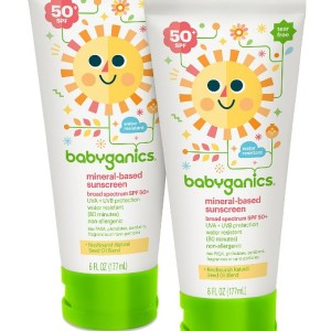 Babyganics Baby Sunscreen Lotion