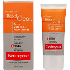 NEUTROGENA Acne Defense Facial Lotion 3-Items-Package