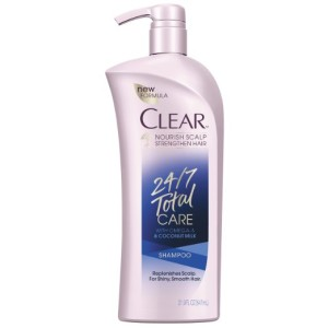 Clear Omega 3 Plus Coconut Milk Total Care Shampoo