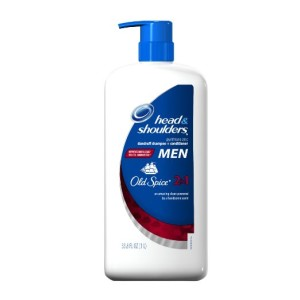Head And Shoulders Mens Dandruff Old Spice 2-in-1