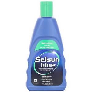 Selsun Blue Dandruff Shampoo Plus Moisturizing Aloe