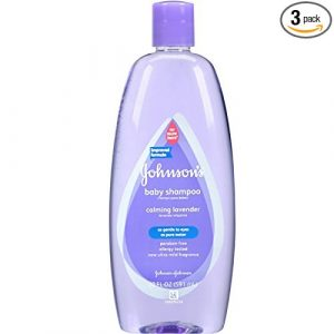 Johnsons 3-Pack Calming Lavender Baby Shampoo