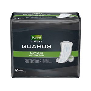 Depend Male Incontinence Guards Max Absorbency