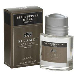 SAINT JAMES LONDON Black Pepper Plus Lime Cologne