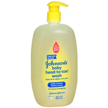JOHNSONS Baby HeadToToe Soapfree Wash 28 Ounce