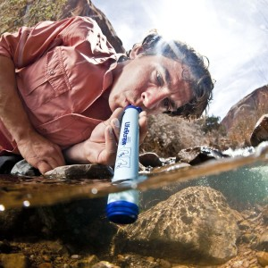 LifeStraw Personal Water Filter Featuring High Flow Rate