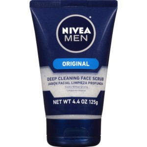 Nivea Men Original Deep Cleaning Face Scrub 125 g