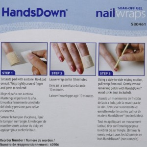 Graham HandsDown Soak-Off Gel Nail Wraps 100 Count