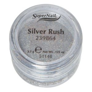 SUPERNAIL Holographic Loose Glitters Silver Rush 239864