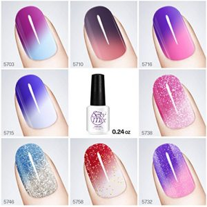 SEXYMIX Color Changing Mood Chameleon Gel Nail Polish Set