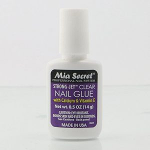 MIA SECRET Strong Jet Salon Quality Clear Nail Glue