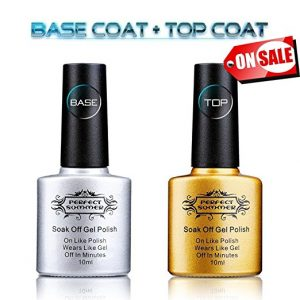 PERFECT SUMMER Clear Base Coat Plus Top Coat Set