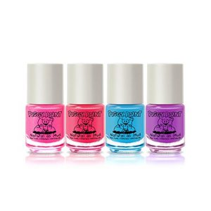 PIGGY PAINT Toxic Free Nail Polish 4 Bottles Gift Set