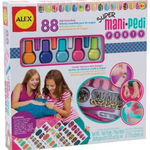 ALEX TOYS Spa Super Mani Pedi Party 88 Pieces