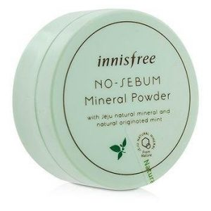 Innisfree No Sebum Mineral Powder 5 g Parabens Free