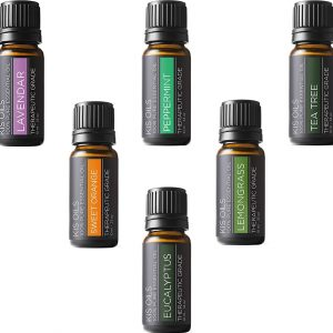 KIS OILS Top 6 Basic Sampler Essential Oil Gift Set
