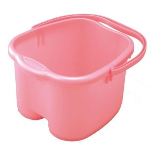 Inomata Foot Detox Massage Pink Spa Bucket