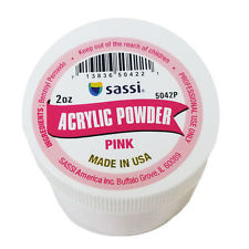 Sassi Acrylic Powder Professional Salon Quality Pink