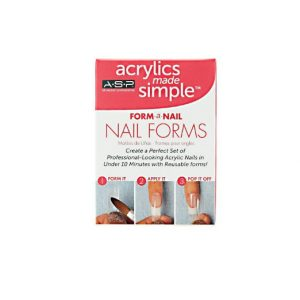 Acrylics Made Simple Form-a-nail Nail Forms