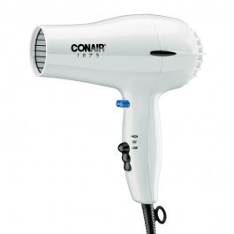 Conair 1875 Watt Convenient Lightweight Hair Dryer
