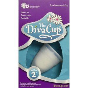 Diva Cup Model 2 Leak-Free Menstrual Cup